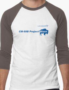 Lockmart Project Bison Men's Baseball ¾ T-Shirt