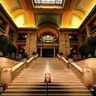Legislative Marble Staircase by Larry Trupp