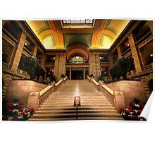 Legislative Marble Staircase Poster
