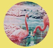 Exotic flamingos Kids Clothes