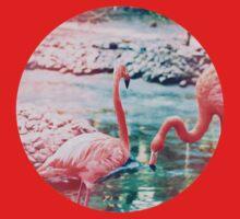 Exotic flamingos One Piece - Long Sleeve