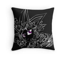 Atemu - Broken Puzzle Throw Pillow