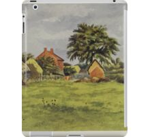 Kate Greenaway Collection 1905 0087 The Chappel's Farm and Croft iPad Case/Skin