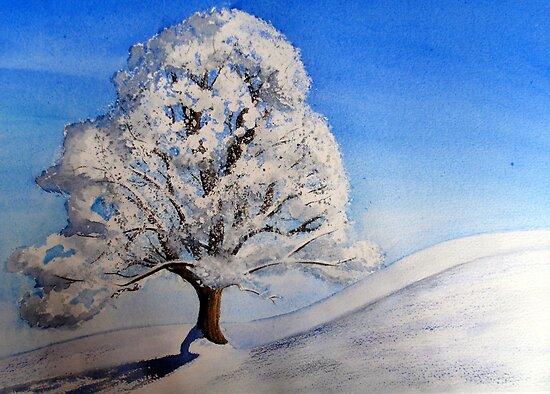 Lonely Tree by Arlene Kline