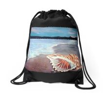 Seashell  Drawstring Bag