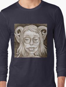 Cute Goblin Gal Long Sleeve T-Shirt