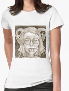 Cute Goblin Gal Womens Fitted T-Shirt
