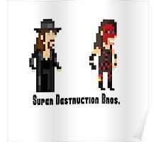 Super Destruction Bros. Poster