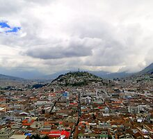 Virgen De El Panecillo, Quito, Ecuador by Al Bourassa