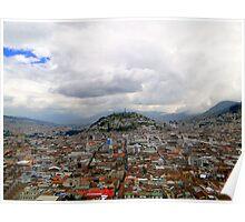 Virgen De El Panecillo, Quito, Ecuador Poster