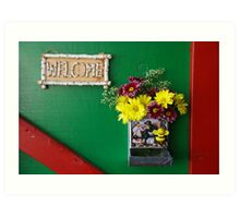 The Sign Says It All Art Print