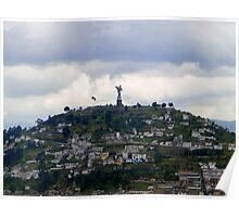 Virgen De El Panecillo II, Quito, Ecuador Poster