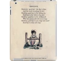 The Little Folks Painting book by George Weatherly and Kate Greenaway 0102 iPad Case/Skin