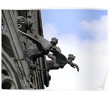 Gargoyles Of Basilica del Voto Nacional, Quito, Ecuador Poster