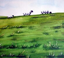 Sheep Sprinkles by Arlene Kline