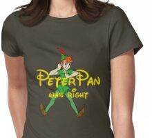 Peter was right Womens Fitted T-Shirt