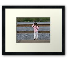 Wondering What Life Has To Offer Framed Print