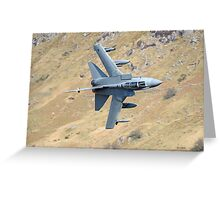 Lowflying Tornado in The Welsh Hills April 2010 Greeting Card