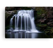 West Burton Waterfall , Yorkshire Dales Canvas Print