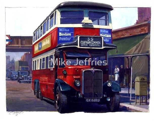 London Transport Renown six-wheeler. by Mike Jeffries