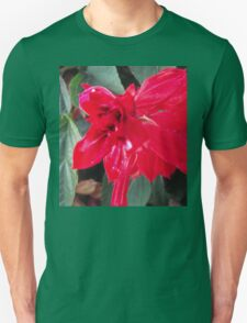 Right Red Flower T-Shirt