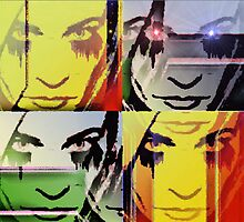 Ode To Warhol Without Border by Adrena87