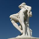 Statue in Les Tuileries Garden, Paris by bubblehex08