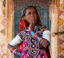 TRIBAL LADY - KUTCH by Michael Sheridan