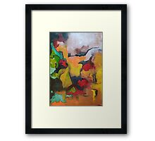 Clandestine...The Sioux Framed Print