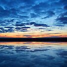 Clouds on the Water © by Dawn M. Becker