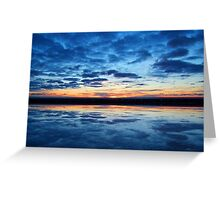 Clouds on the Water © Greeting Card