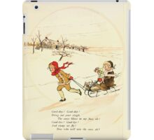 Rose Buds Virginia Gerson 1885 0019 The Race iPad Case/Skin