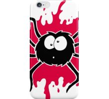 Spider Splat - Red iPhone Case/Skin
