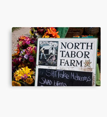 North Tabor Farm Stand Canvas Print