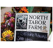 North Tabor Farm Stand Poster