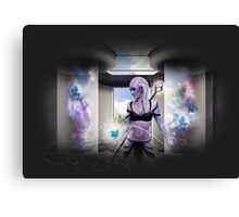 Alien Magic Canvas Print