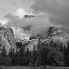 Ansel's Half Dome by Ann J. Sagel