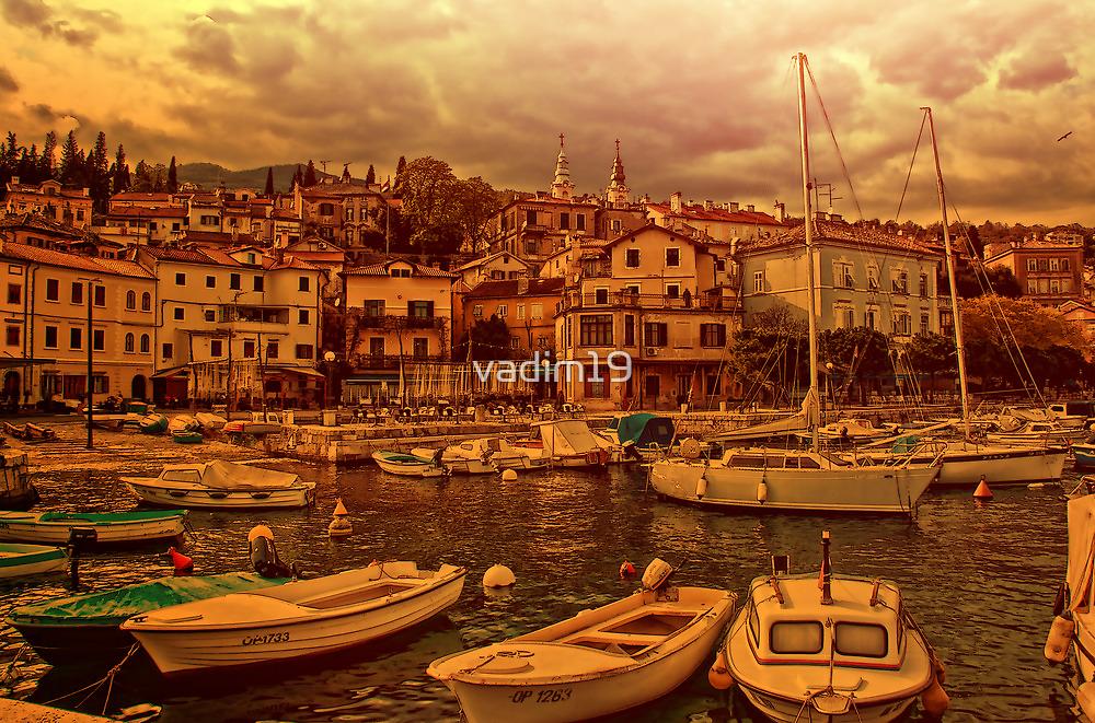 Fisherman Village. Opatija. Croatia by vadim19
