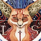 - Totem Fox - by Losenko  Mila