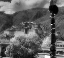 Clouds over Potala Palace by DareImagesArt