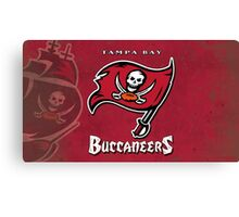 Tampa Bay Buccaneers Canvas Print