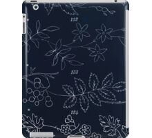 Briggs & Company Patent Transferring Papers Kate Greenaway 1886 0022 Floral and Leaves Inverted iPad Case/Skin