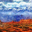Red Rain by Rhonda Strickland