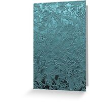 Grunge Relief Floral Abstract Greeting Card