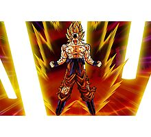Goku Super Saiyan Photographic Print