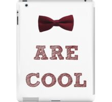 Doctor Who - Bow Ties are cool #1 iPad Case/Skin