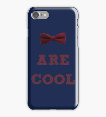 Doctor Who - Bow Ties are cool #2 iPhone Case/Skin