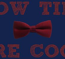 Doctor Who - Bow Ties are cool #2 by BenH4