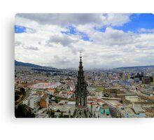 Quito Skyline II Canvas Print