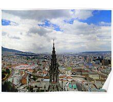 Quito Skyline II Poster